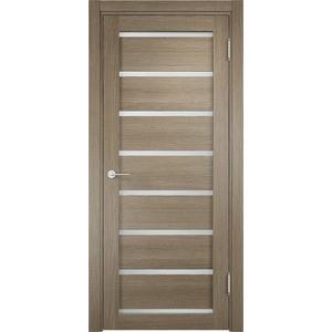 Дверь ELDORF Мюнхен-5 остекленная 2000х800 экошпон Дуб дымчатый