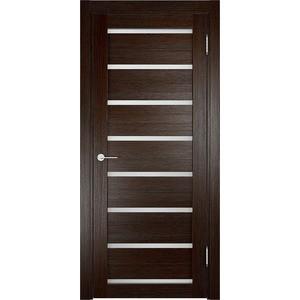 Дверь ELDORF Мюнхен-5 остекленная 2000х800 экошпон Дуб темный