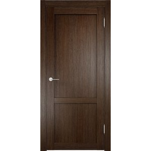 Дверь ELDORF Баден-3 глухая 2000х900 экошпон Дуб табак
