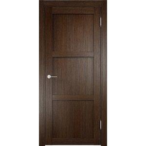 Дверь ELDORF Баден-1 глухая 1900х550 экошпон Дуб табак табак