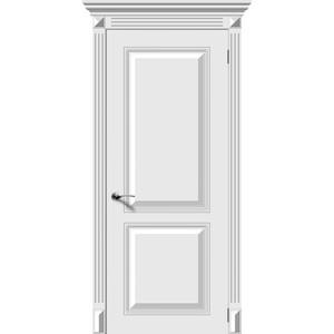 Дверь DEMFA Блюз глухая 2000х600 эмаль Белый наличник demfa эмаль 2140х70х12 мм белый для капри комплект 5шт
