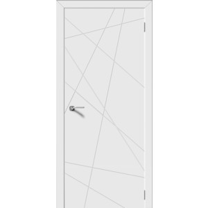 Дверь DEMFA Вектор глухая 2000х600 эмаль Белый футболка шаблон вектор
