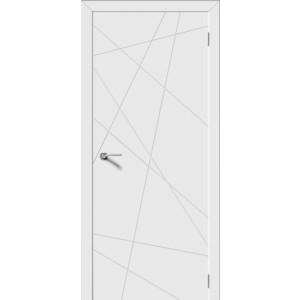 Дверь DEMFA Вектор глухая 2000х700 эмаль Белый наличник demfa эмаль 2140х70х12 мм белый для капри комплект 5шт
