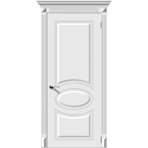 Дверь DEMFA Джаз глухая 2000х800 эмаль Белый
