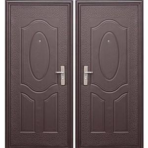 Дверь ЦИТАДЕЛЬ E40M входная 2050х960 металлическая Молотковая эмаль (левая)