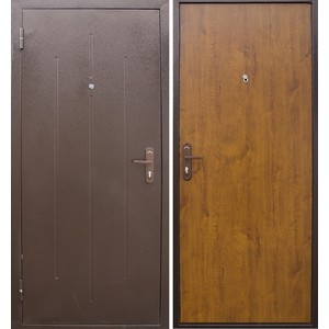 Дверь ЦИТАДЕЛЬ Стройгост 5-1 входная 2050х880 металлическая Золотистый дуб (левая) эван водонагревательэван эпвн 24 1 фл