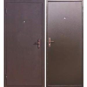 Дверь ЦИТАДЕЛЬ Стройгост 5-1 входная 2060х880 металлическая Коричневый (левая) S 500
