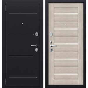 Дверь SD Prof-51 входная 2050х880 металлическая Серый антик/Дуб беленый/Стекло (левая) sd prof 2 стандарт входная 2050х980 металлическая медный антик итальянский орех левая