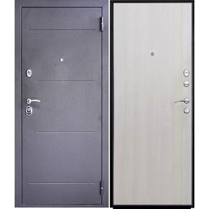 Дверь SD Prof-5 New Line входная 2050х980 металлическая Тёмное серебро/Дуб светлый (левая) sd prof 5 new line входная 2050х970 металлическая черный шелк венге левая