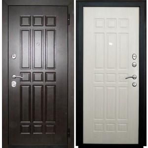 Дверь SD Prof-5 Сенатор входная 2050х880 металлическая Венге/Беленый дуб (левая) sd prof 5 new line входная 2050х970 металлическая черный шелк венге левая