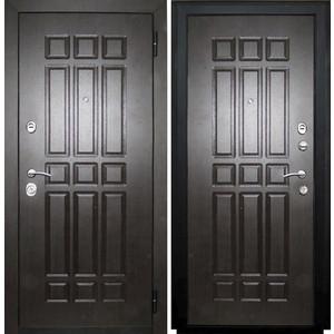 Дверь SD Prof-5 Сенатор входная 2050х980 металлическая Венге/Венге (левая) sd prof 5 new line входная 2050х970 металлическая черный шелк венге левая