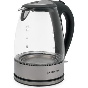 Чайник электрический Polaris PWK 1719CGL, серый чайник электрический polaris pwk 1299ccr весна