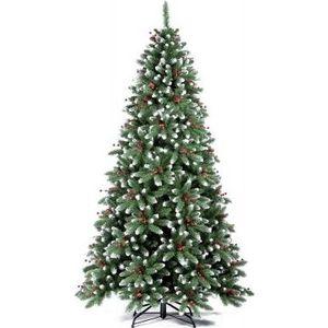 Елка искусственная Royal Christmas Seattle заснеженная шишки/ягоды 525240 (240 см)