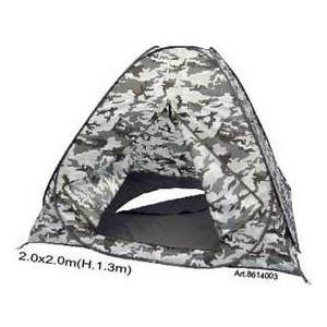 Палатка рыбака SIWEIDA 8614003 SWD Белая Ночь с дном на молнии (автомат)