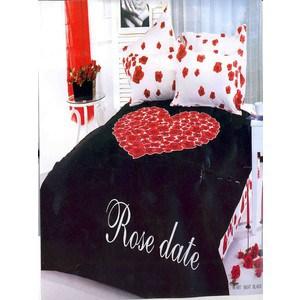 Комплект постельного белья Le Vele 1,5 сп Heart beat black (7721) le vele le vele кпб poli 1 5 спал