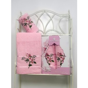 Набор из 2 полотенец Merzuka Sakura garden (50х80/70х130) (8978 светло-розовый) набор из 3 полотенец merzuka sakura 50х90 2 70х140 8432 оранжевый