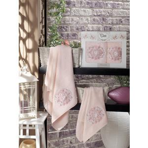 все цены на  Sikel Kamelya бамбук с вышивкой (50x90/70x140) (9038 розовый)  в интернете