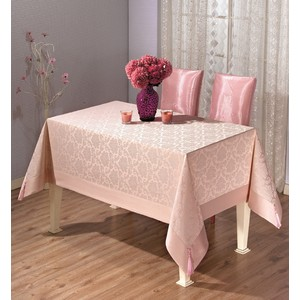 Скатерть Tabe Damask 160x220 (8508 розовый)