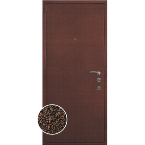 Дверь металлическая Гардиан серии ДС 3 2100х980 правая 6ПЭ01 дверь входная металлическая doorhan эко 980 мм правая