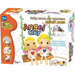 Масса для лепки Angel Clay Милый ангел (АА07011) набор donerland angel clay милый ангел аа07011