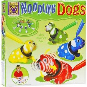 Creative Разукрась кивающих собачек (5673)