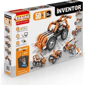 Конструктор Engino Inventor Набор из 50 моделей с мотором (5030) конструкторы engino inventor набор из 90 моделей с мотором