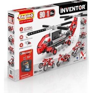 Конструктор Engino Inventor Набор из 90 моделей с мотором (9030) конструкторы engino inventor набор из 90 моделей с мотором