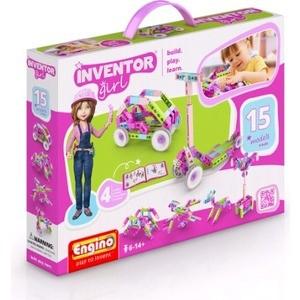 Конструктор Engino Inventor Girls Набор из 15 моделей (IG15)