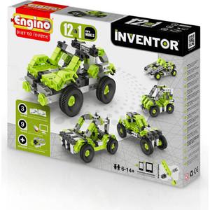Конструктор Engino Inventor Автомобили - 12 моделей (PB 31) конструкторы engino алекс приключения во времени открывая автомобили