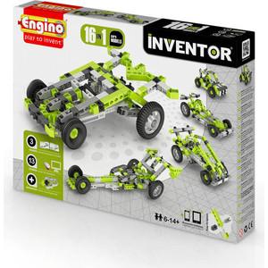 Конструктор Engino Inventor Автомобили - 16 моделей (PB41) конструкторы engino алекс приключения во времени открывая автомобили
