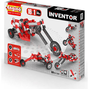 Конструктор Engino Inventor Мотоциклы - 16 моделей (PB42) engino конструктор inventor самолеты 4 модели