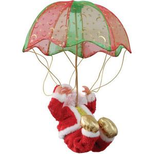 Snowmen дед мороз музыкальный 28см (Е80967) снежный шар сима ленд дед мороз прячет подарки 14x10 5x10 5cm музыкальный 2005341