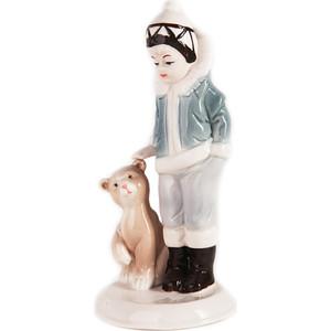 Snowmen фигурка девочка с медведем 18, 5см ''Рождество'' (Е92355)
