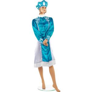 Snowmen костюм снегурочки размер М с кокошником (Е93324-2)