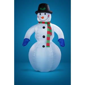 Snowmen надувной снеговик с вентилятором и светом. 2. 5м (Е40174) терммикс 4 поддона с вентилятором красный