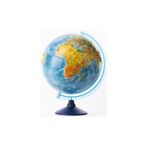 Globen Глобус Земли физический рельефный 320 серия Евро (Ке013200229) globen глобус земли политический рельефный 320 серия евро