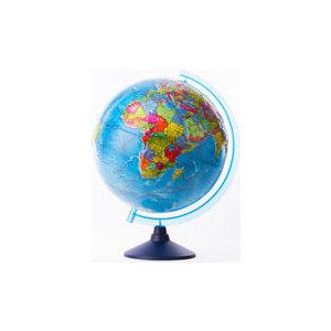 Globen Глобус Земли политический рельефный 320 серия Евро (Ке013200230) globen глобус земли политический рельефный 320 серия евро