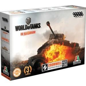Hobby World World of Tanks. CROMWELL. Масштабная модель 1:56 (1628)