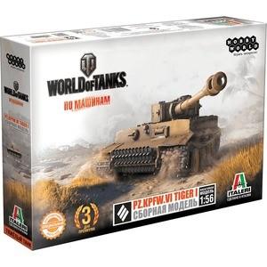 где купить Сборная модель Hobby World World of Tanks. Pz.Kpfw.VI TIGER I. Масштабная модель 1:56 (1630) по лучшей цене