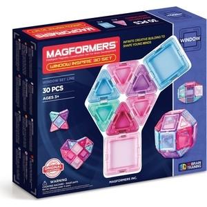 Магнитный конструктор Magformers Window Inspire 30 set (714004) магнитный конструктор magformers window inspire 30 set 714004