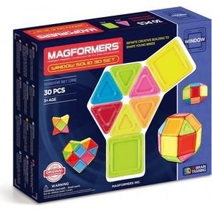 Магнитный конструктор Magformers Window Solid 30 set (714006)