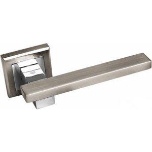Ручка PALIDORE квадратная PALIDORE 288 (белый никель/хром)