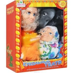 Фотография товара кукольный театр Весна 4 персонажа с ширмой №1 (В2928) (600100)