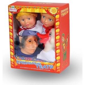 Фотография товара кукольный театр Весна 4 персонажа с ширмой №4 (В2931) (600103)
