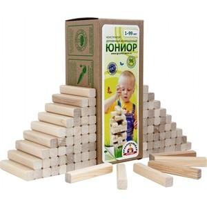 Конструктор Краснокамская игрушка Юниор (К-03) краснокамская игрушка деревянный конструктор малыш