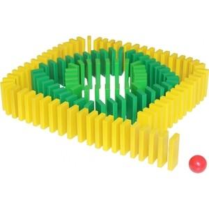 Конструктор Краснокамская игрушка Эффект домино (К-05) краснокамская игрушка деревянный конструктор малыш