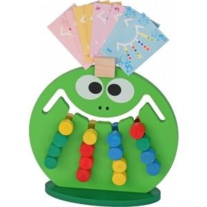 Логическая игра Краснокамская игрушка Лягушка (ЛИ-01) логическая игрушка краснокамская игрушка ли 01 лягушка