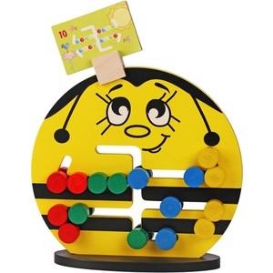 Логическая игра Краснокамская игрушка Пчелка (ЛИ-04) логическая игрушка краснокамская игрушка ли 01 лягушка