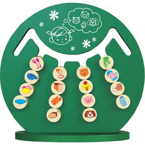 Логическая игра Краснокамская игрушка Интеллект (ЛИ-14) логическая игрушка краснокамская игрушка ли 01 лягушка