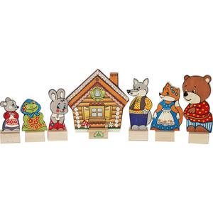 Набор Краснокамская игрушка Персонажи сказки Теремок (Н-10)
